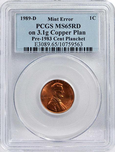 percent copper in a penny