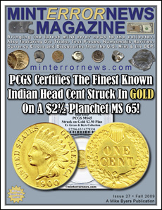 PCGS Certifies The Finest Known Indian Head Cent Struck In