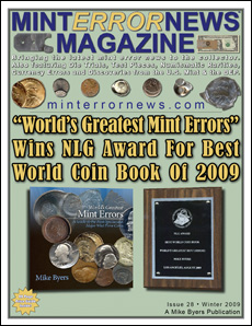 "World's Greatest Mint Errors"" Wins NLG Award For Best World"