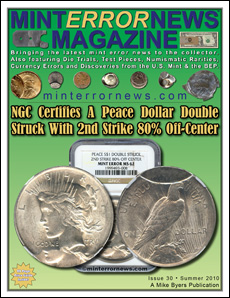 NGC Certifies A Peace Dollar Double Struck With 2nd Strike